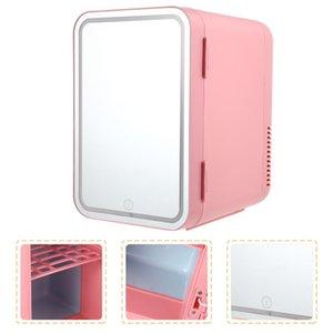Fridge Magnets 1 Set Mini Home Beauty Compact Cosmetics Refrigerator(Plug)