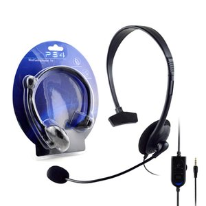 Для PS4 Xbox One Headsets Games Наушники MIC Page Console Wired Gaming Stereo Headset