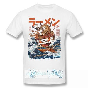 Humor der Große Ramen aus Kanagawa lustig 2021 Ankunft T-shirt coole einzigartige design crewneck baumwolle für männer shirt männer t-shirts