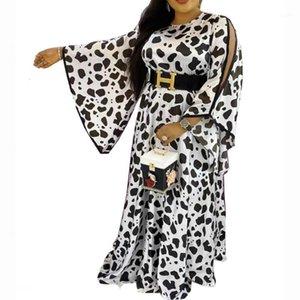 African Dashiki платье свободно элегантные мусульманские абая базин халат платье бродер Riche Elegant Party Africa Одежда Kanga Shote1