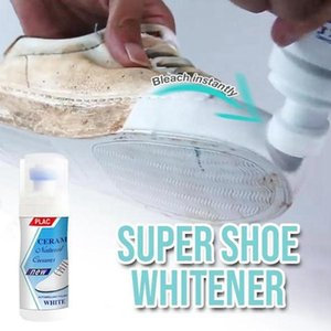 100g White Shoe Cleaner Cleaning Magic Shoes Powder Super Yellow Edge Whitening Sneakers Brush Clothing & Wardrobe Storage