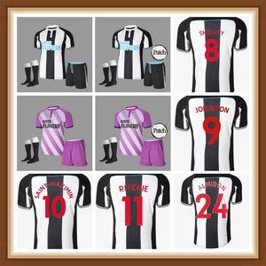Männer Kinder Kits 2021 2022 Nufc Joelinton Soccer Jerseys Shelvey 20 21 22 Almiron Ritchie Gayle Equipment Football Hemden