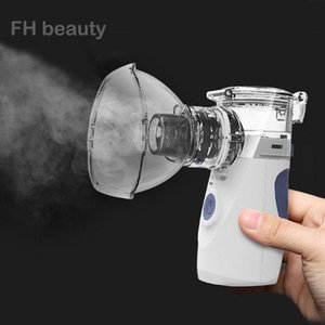 Health Care Mini Handheld Portable Inhale Nebulizer Silent Ultrasonic Inalador Nebulizador Children Adult Rechargeable Automizer Fragrance L