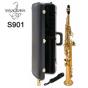 Japan Yanagisawa S-901 Soprano Saxophone B flat playing professionally Top Musical Instruments professional