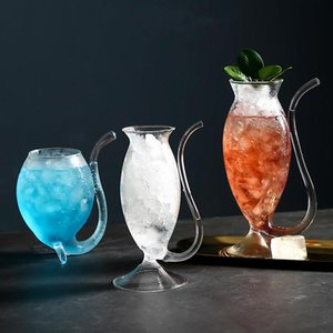 The Bar Cocktail Glass Cup Vampire Cold Drinks Fruit Juice Espresso Drinkware Cool Glasses Cups With Straw Transparent Mug Wine