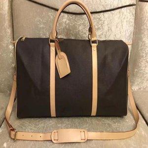 Borsa da trekking bagagli Capacità della testa N874512 Borse da viaggio delle donne Uomini con le borse di Duffel Kee di alta qualità Portano la spalla calda Grande serratura 55cm KKHC