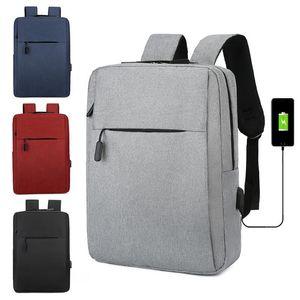 Backpack Waterproof Men's Fashion USB Charging Interface Laptop Bags Leisure Business Multifunction School Bag Women's Backpacks