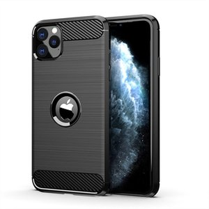 Shockproof Carbon Fiber cover Cases for iPhone 11 Pro XS MAX XR 8 7 6 Plus Samsung A10 S20 Ultra Note10 xiaomi MI 9 Rugged Armor Case