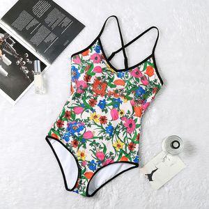 Mujeres Bikini Verano Mujer Carta Impresiones Traje de baño Dama Sexy Moda Traje de baño Push Up Madura envoltura Beachwear Backless Halter Strap Bijni Caliente