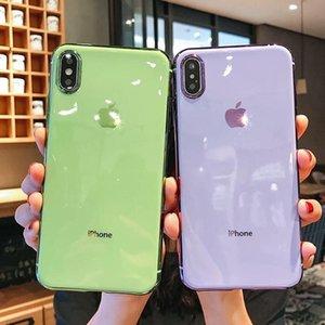 Fashion Apple 12 mobile phone case iPhone11 soft shell se2 electroplating xr xsmax couple 7plus8plus female 6s