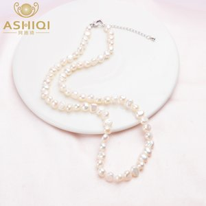 Natural Freshwater Pearl Necklace Vintage Baroque Jewelry Women 2021 Trend Gifts for The Year