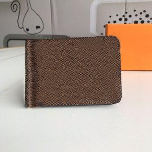 올바른 버전 도매 고품질 패션 지갑 단일 지퍼 디자이너 남자 여자 달러 클립 가죽 지갑 상자와 긴 지갑