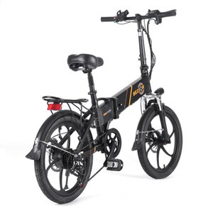 20 Inch Portable Electric Bike Foldable 2 Wheel Bicycles 350W 48V 10.4ah BEZIOR M20 Adult Electrics Bicycle Phone Holder