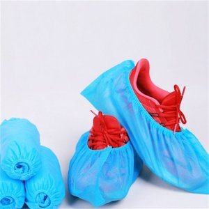 Premium Disposable Boot Shoe Covers 100Pcs Pack Durable Water Resistant Non-Slip Heavy Duty Boot Booties Non-Toxic Reusable 560 R2