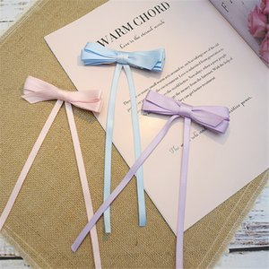 10pcs lot Simple Style multi Layer Bow Ribbon Hairpin Side Clip Handmade Hair Accessories Festival Cosplay Girls Sweet Headwear