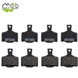 Bike Brakes DRIFT MANIAC Bicycle Disc Brake Semi-metallic Pads For MAGURA-MT8 MT6 MT4 MT2 4 Pairs
