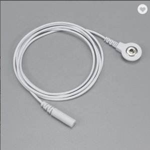 10pcs long 100cm Electrode Lead Wire Adapter Tieline Convert 2.0mm Pin to 3.5mm Snap ADAPTERS Compatible w TENS 7000 & 3000 Units