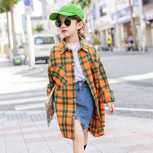 Shirts Girls Spring Autumn Children Fashion Cotton Long Tops Clothing For Baby Kids Casual Unisex Outfits Clothes 2021