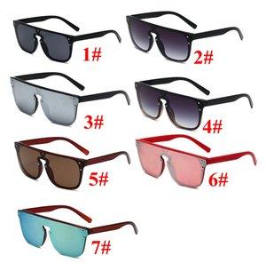 Sunglasses For Men women Classic Outdoor Sport Sunglasses Street Eyewear UV400 Drving Goggle Oculos one piece 7 colors 10PCS fast ship