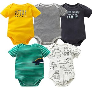 Autumn Cotton Baby Rompers Toddler Jumpsuit Long Sleeved Newborn Baby Girl Boy Clothe Cartoon Infant Baby Clothing LJ201023 219 Z2