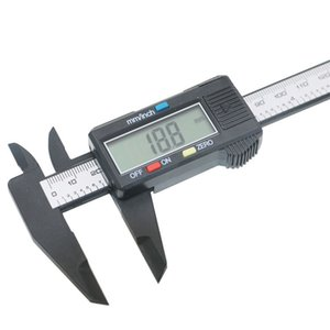Electronic 0-150mm all plastic digital vernier calipers multi-package 10 pieces Z19K