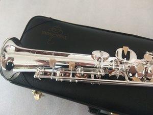 Professional level Quality Yanagisawa S-992 B-Flat Silver Soprano Saxophone Ligature Reed Neck Musical Instrument Mouthpiece