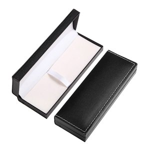 High quality Classical Leather Pen gift box Stitched Pens Case Display School Office Supplies Stationery