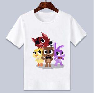 Five Night At Freddy Fnaf T -Shirt Children Cartoon Printed Tee Shirts t shirt for boys  girls