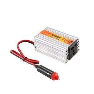 Car Organizer 200w Auto Inverter 12v 220v With Usb Power Converter DC To AC Adapter Adaptor Styling