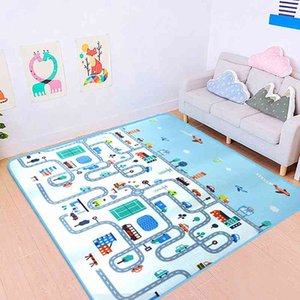 Baby Play Mat Kids Developing Crawling Mat Educational Toys Children's Rug Carpet To The Nursery Baby Mat Puzzle Rugs Gym Grams 210401