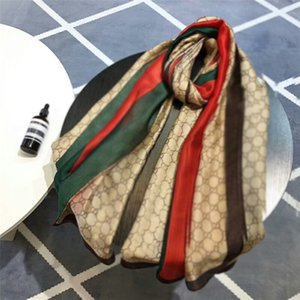 2021 famous designer ms xin design gift scarf high quality 100% silk scarf size 180x90cm