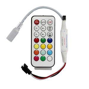 Contrôleur RVB 14Key Mini WS2812B RGBW RGBWW Control Remote pour Light SP103E 2835 5630 Striplight Magic Home Classeurs