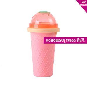 Magic Squeeze Durable Ice cream Diy Homemade Quick  Mok Cooling Maker Smoothie Cup Slush Reusable Pinch Milkshake Tool