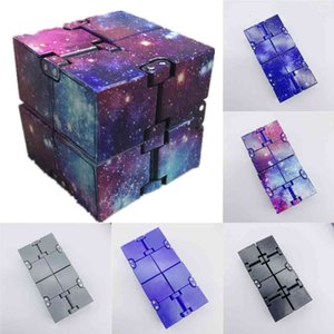 Box Pack Fidget Infinite Cubes Starry Infiniti Cube Magic Infinity Flip Puzzle Toys Anxiety Reliever Sensory Educational Game Autism Anxiety Stress Relief H41FUWB