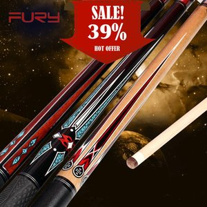 Fury Billiard Pool Cue AG Series 11.75mm 12.75mm Tiger Everest Tip 147cm Length Professional Maple Shaft Quick Joint BilliardCue Cues