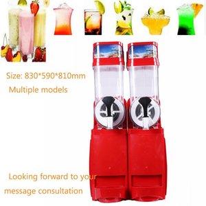 Qualité supérieure commerciale de 1 à 4 bars Snow Melting Machine Styles disponibles Concasseurs à glace personnalisables Shavers