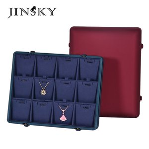 Jinshijue Creative Jewelry Tray Jewelry Pendant Ring Storage Display Box Double Breasted Ornament Gift Box