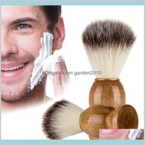 Other Bath & Toilet Supplies Home Garden Eco-Friendly Barber Salon Shaving Brush Wooden Handle Blaireau Face Beard Cleaning Men Razor