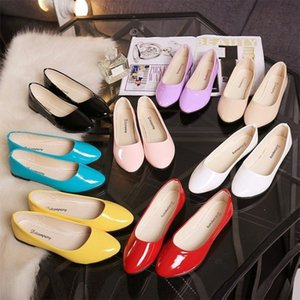 Flat shoes Spring Korean round head soft sole heel girls' versatile fashion shallow single