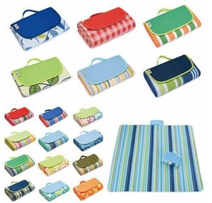 Picnic Camping Pads Portable Folding Beach Mat Oxford Cloth Sleeping Mats Outdoor Pad 21 Colors 145*180cm YL597
