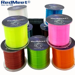 RedMeet Super Strong Nylon Fishing Line 500M 2.5-28.6LB Monofilament Material Fishline for Rock Sea Carp