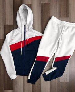 2022 Winte Designer Tracksuits Мужская роскошная пота костюмы толстовки уличный досуг с капюшоном мужчины Jogger классическая женская куртка + брюки спортивный спортивный спортивный костюм