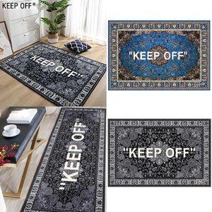 Carpets KEEP OFF Rug Area Home Entrance Door Mat Carpet Living Room Rugs For Bedroom Kitchen Balcony Floor