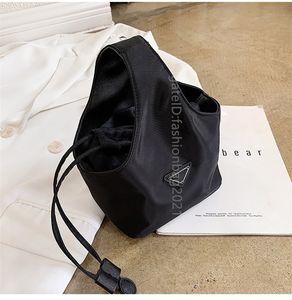 2021 SS Gümrükleme Büyük Satış Promosyon Bayanlar Aksiller Paket Çanta Naylon Bez Çanta Basitlik Stil Anne ve Kızı Çanta Kadın Moda Çapraz Vücut