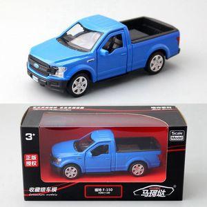 136 alloy pickup truck F150 car modelchildrens pickup truck toyoriginal packaging