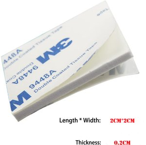 Office & School Supplies 3M double coated tissue tape 9448A 2MM thickness 20MM*20MM Stick Adhesive Foam Mounting Square Pads