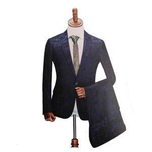 Suit Sf Customize Men Business Formal Men's Suits Set Blazer Jacket