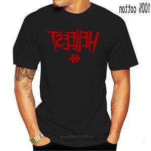 T-shirt bianca da uomo da uomo hellfest Metal Metal Music Festival da uomo S - Camicia 3XL Plus Size Tee