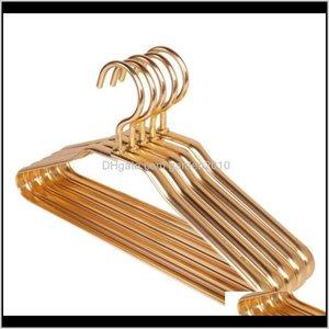 & Racks Clothes Aluminum Metal Luxury Anti-Rust Shirts Dress Coat Waterproof Kids Baby Hangers Rack 3Ca6D Oavbm