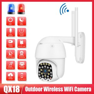 Cameras Wireless WIFI Camera 1080P 2MP Outdoor PTZ IP Two Way Audio Motion Detection Clear Night Vision Waterproof